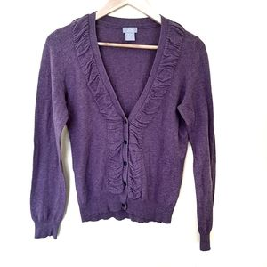 🌿50%OFF🌿Joe Wool Blend Purple Cardigan sweater